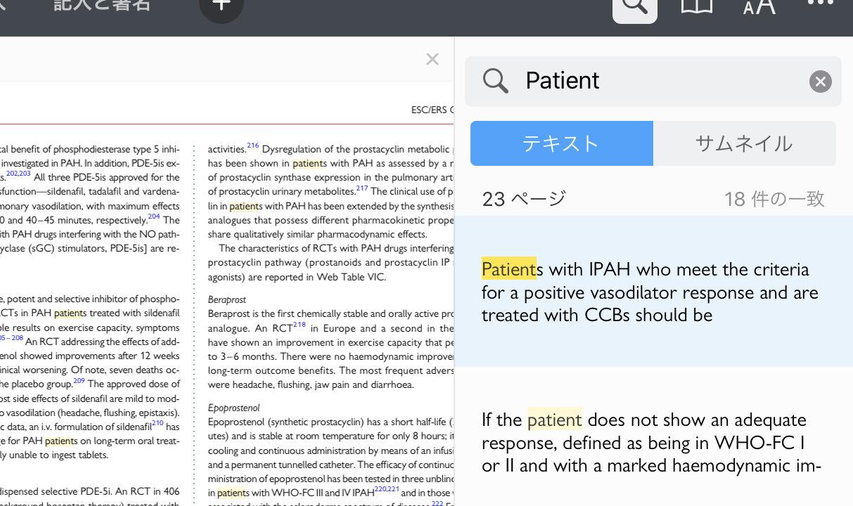 PDF内を検索