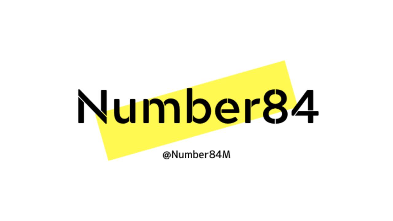 Number84について