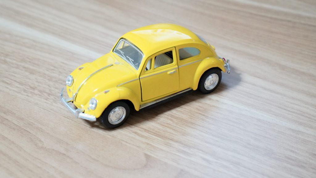 beetleのミニカー