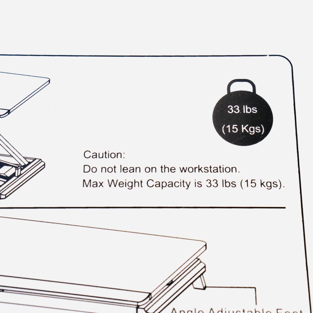 耐荷重は10kg