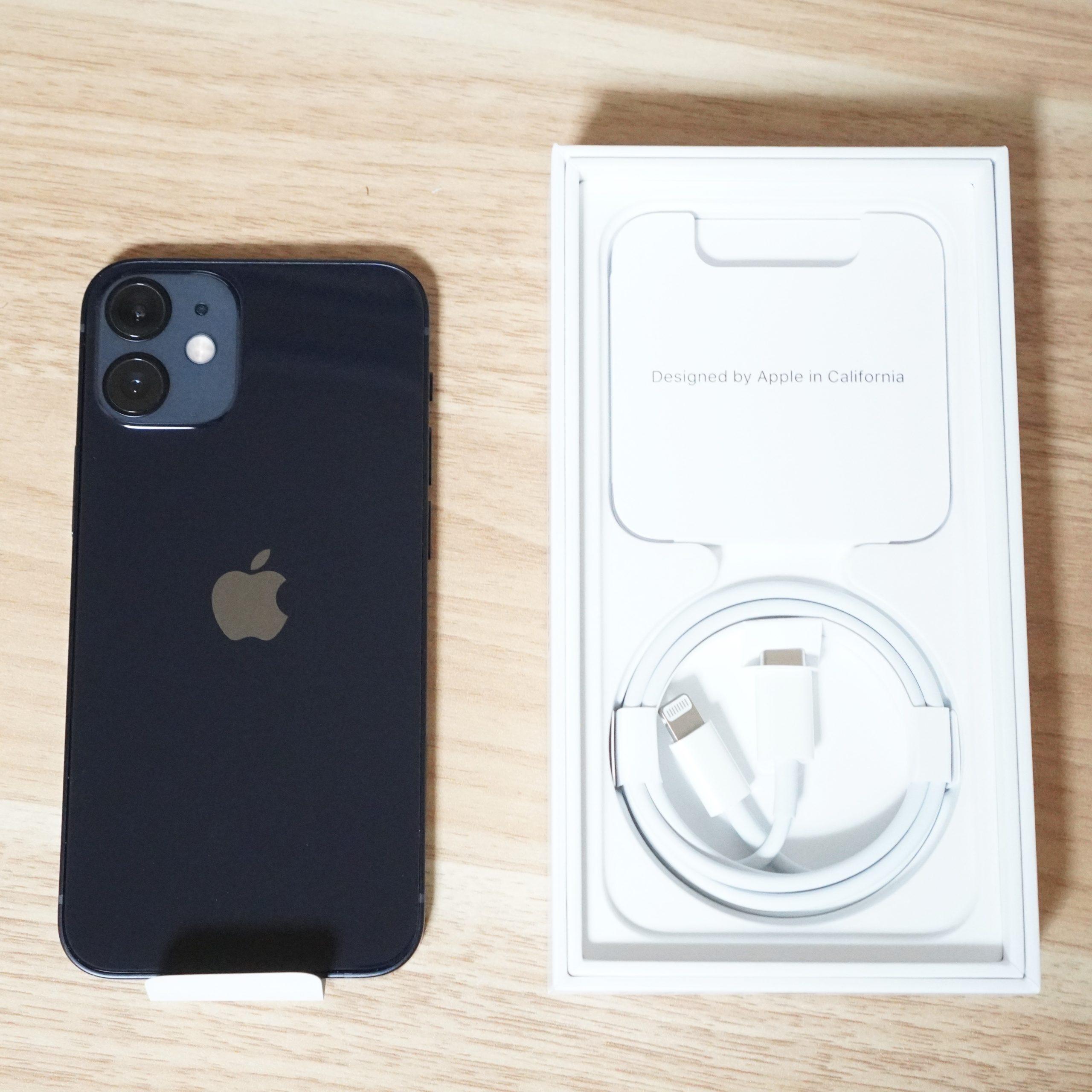 iPhone12mini-開封