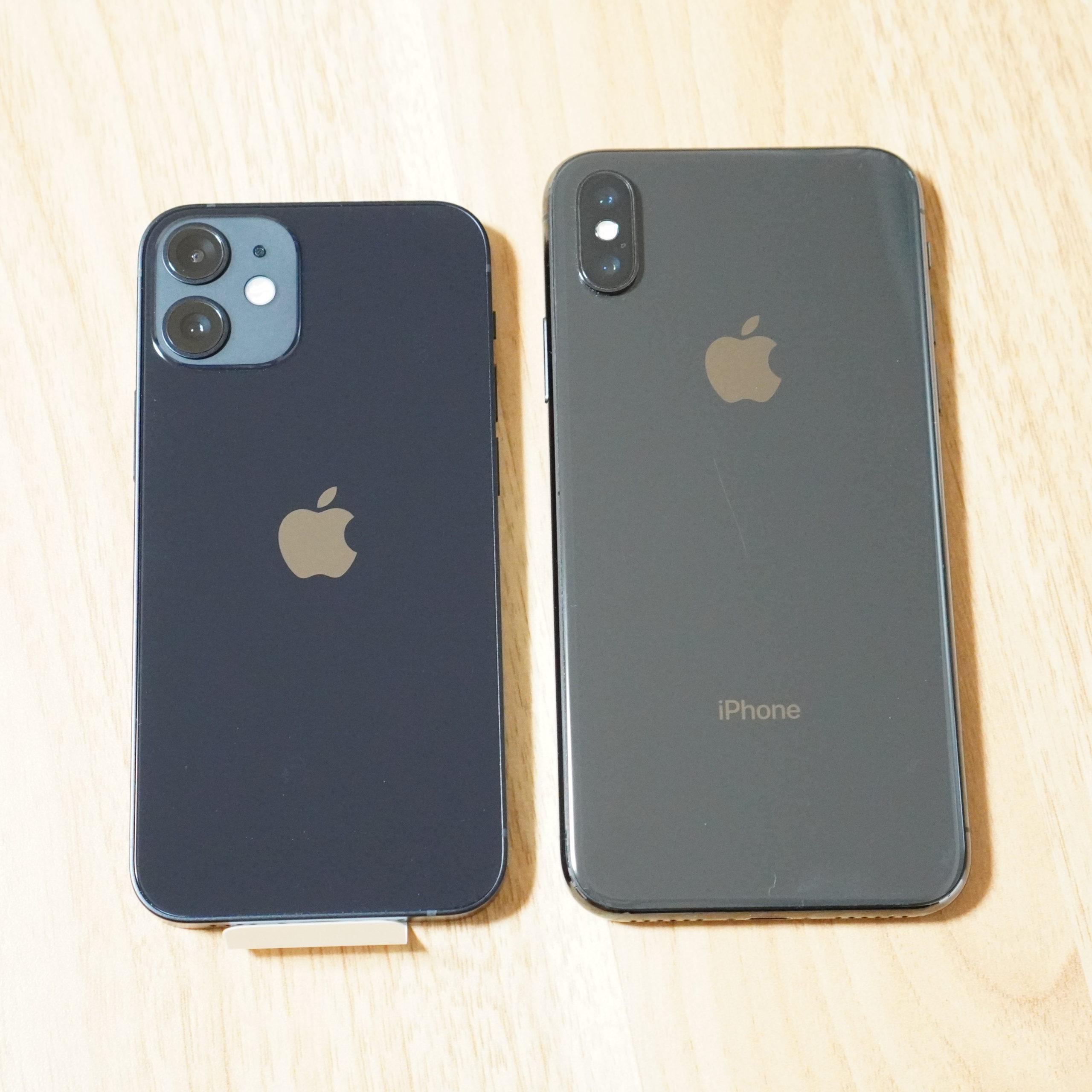 iPhone12mini-比較