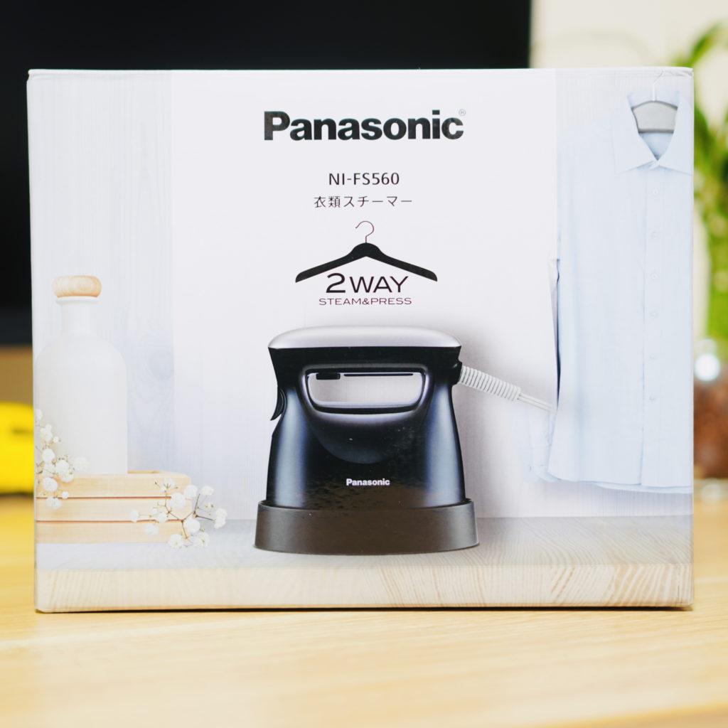 Panasonic-衣類スチーマー
