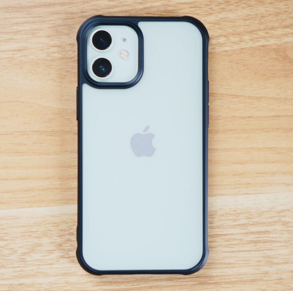 ハイブリッドプロ × iPhone 12 miniグリーン