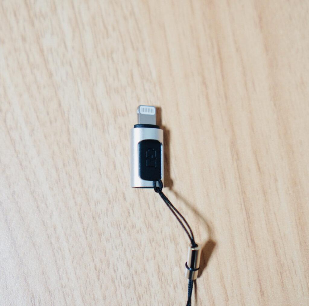 USB-C・Lightning変換アダプタ