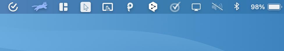 メニューバーアプリ