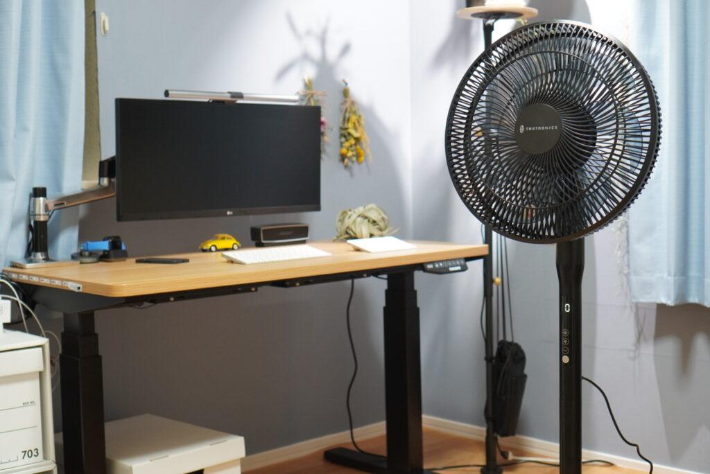 サーキュレーター兼用の高級扇風機
