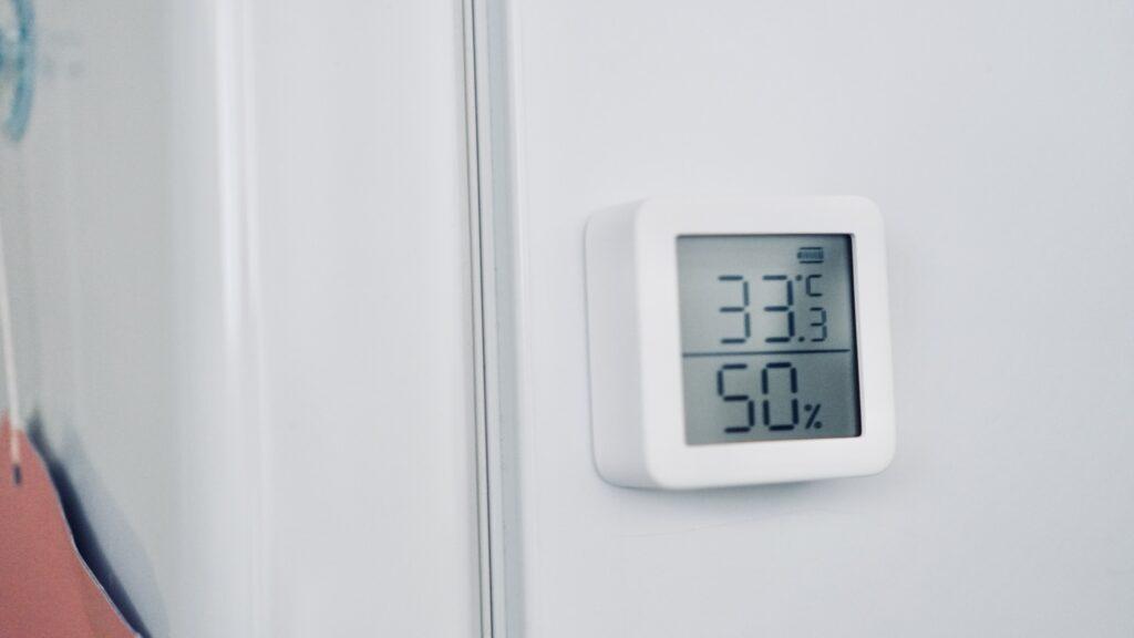 SwitchBot温湿度計_マグネット内蔵
