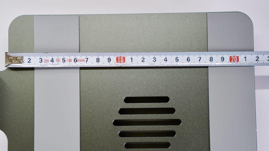 EPNノートパソコンスタンド-奥行き