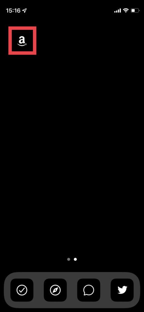 Nomad iConでホーム画面をカスタマイズ