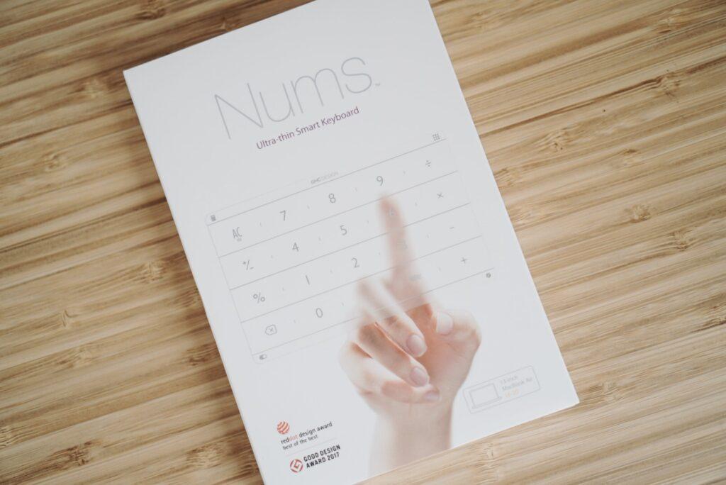 MacBookでテンキーを使う「Nums」