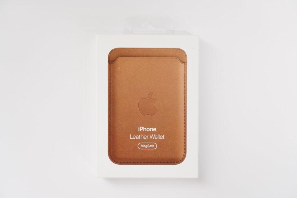 MagSafe対応iPhoneレザーウォレット