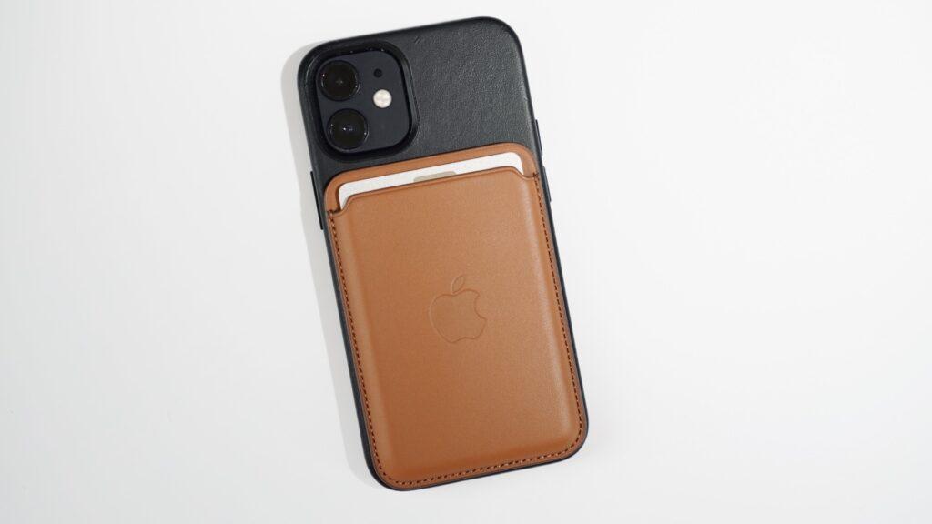iPhone 12 mini _MagSafe対応iPhoneレザーウォレット
