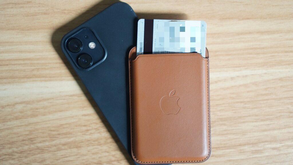 MagSafe対応iPhoneレザーウォレットで磁気不良を防止